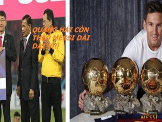 Quang Hải học tập Messi về thành tích