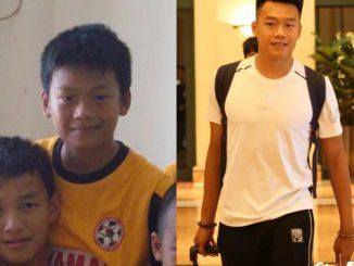 Thời thơ ấu và thông tin cầu thủ Thành Chung