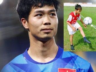 Cầu thủ Công Phượng bây giờ và tuổi thơ