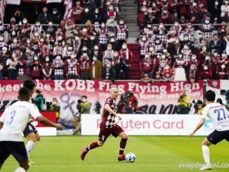 Andres Iniesta chơi cho Vissel Kobe tại Nhật Bản