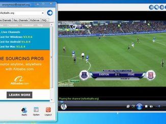 hướng dẫn xem bóng đá bằng sopcast